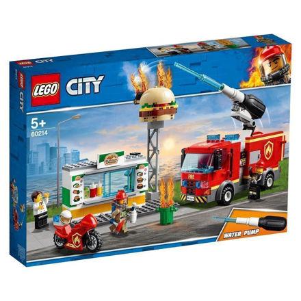LEGO City 60214 Brand på burgerbaren