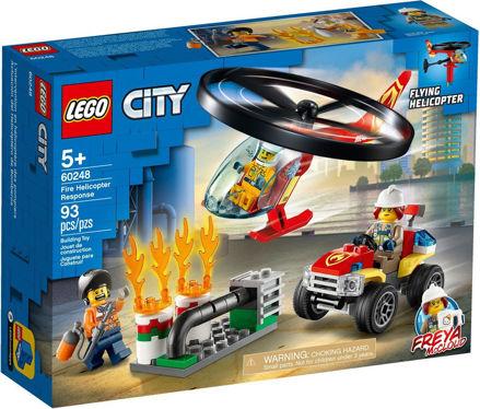 LEGO City 60248 Brandvæsnets helikopterenhed