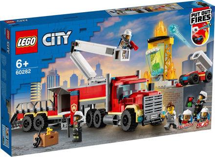 LEGO City 60282 Brandvæsnets kommandoenhed