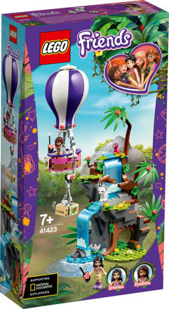 LEGO Friends 41423 Tiger-ballonredning i junglen