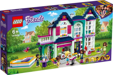LEGO Friends 41449 Andreas families hus