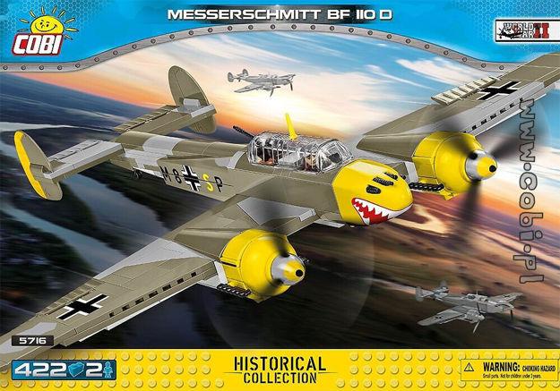 Cobi Small Army WW2 5716 - Messerschmitt Bf 110D