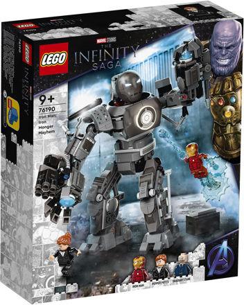 LEGO Marvel Super Heroes 76190 Iron Man: Iron Mongers kaos