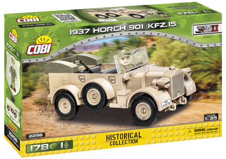 WWII COBI-2256 - 1937 Horch 901 kfz.15