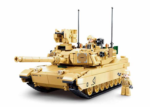 Sluban M38-B0892 - M1A2 SEP V2 Abrams