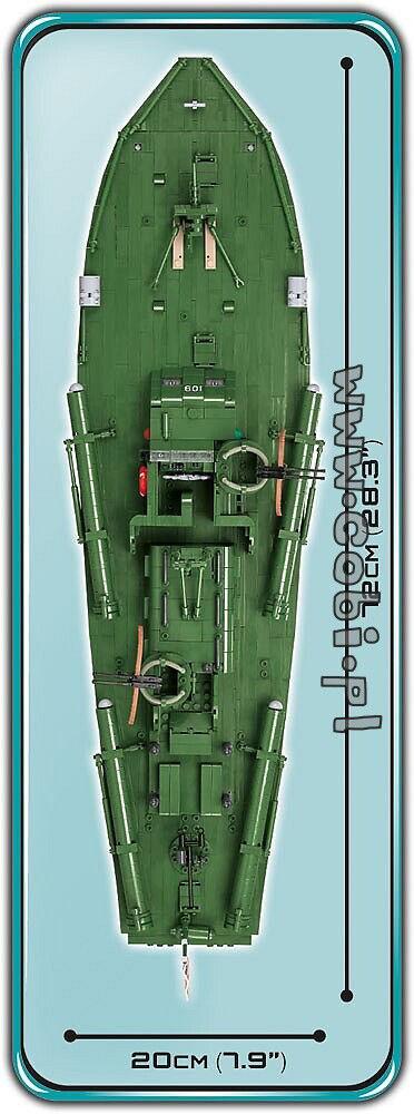 WW2 Navy COBI-4825 - Patrol Torpedo Boat PT-109