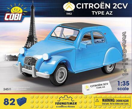 Cobi 24511 - Citroen 2CV type AZ (1962)