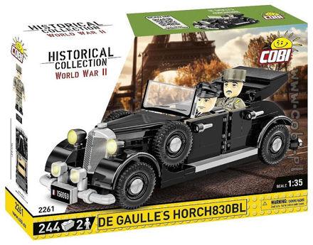 Cobi WW2 2261 - Charles de Gaulles 1936 Horch 830