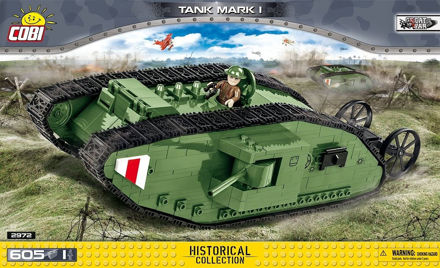 Picture of COBI Great War 2972 Tank Mark I