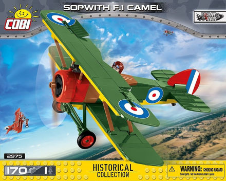 Picture of COBI Great War 2975 Sopwith F.1 Camel
