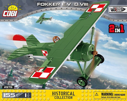 Picture of COBI Great War 2976 Fokker E.V (D.VIII)