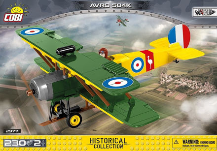 Picture of COBI Great War 2977 AVRO 504K