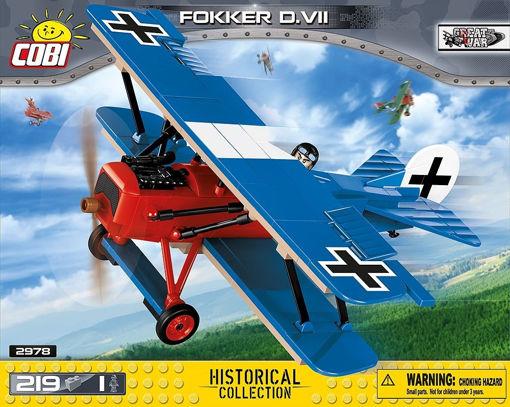 Billede af COBI Great War 2978 Fokker D.VII