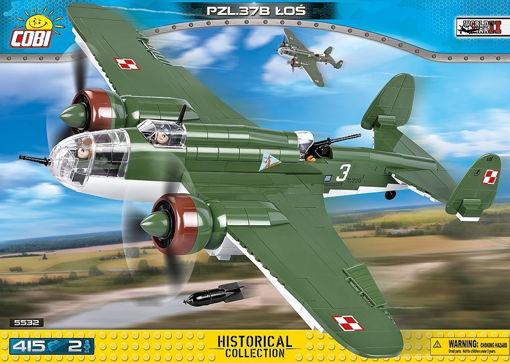 Billede af Cobi Small Army WW2 5532- PZL.37B Łoś