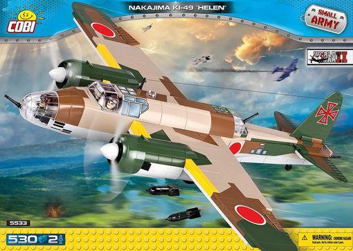 Bild på Cobi Small Army WW2 5533 - Nakajima KI-49