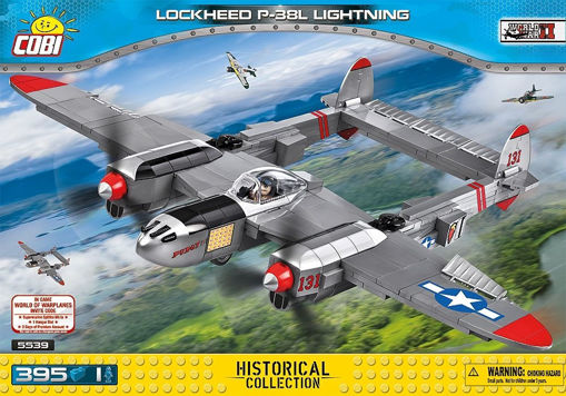 Bild på Cobi Small Army WW2 5539 - Lockheed P-38 Lightning