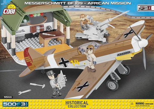 Billede af Cobi Small Army WW2 5544 - BF109 African mission