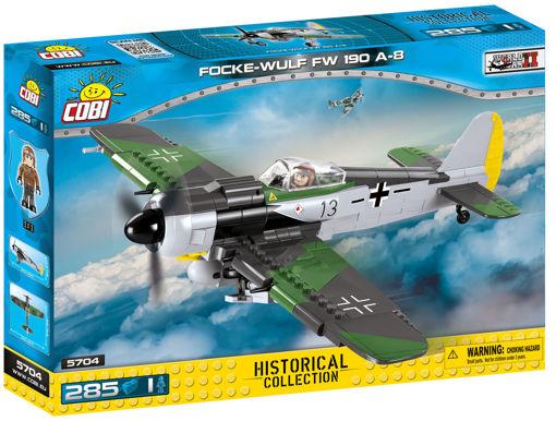 Bild på Cobi Small Army WW2 5704 - Focke-Wulf Fw190 A-8
