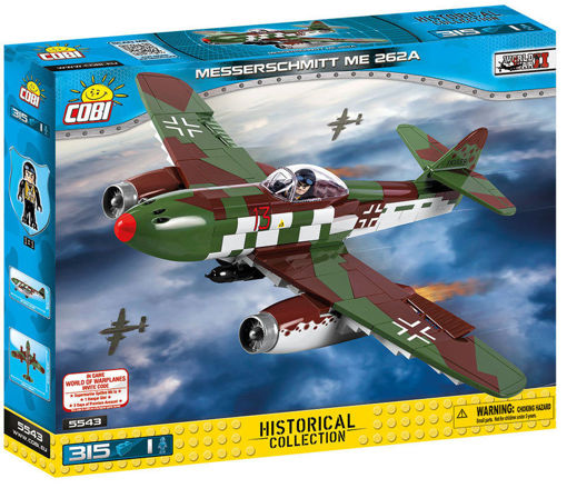Bild på Cobi WW2 5543 - Messerschmitt ME-262A