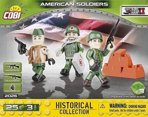 Bild på Cobi Small Army WW2 2026 - Amerikanske soldater