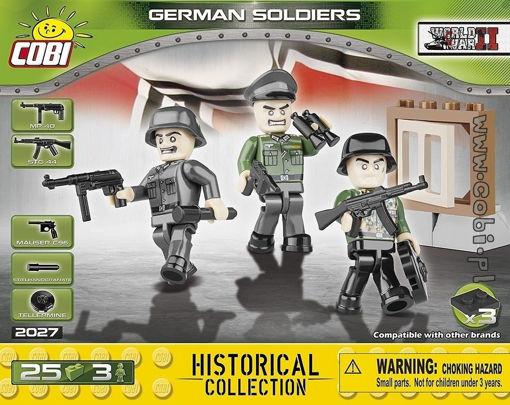 Bild på Cobi Small Army WW2 2027 - Tyske soldater