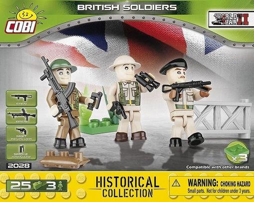 Bild på Cobi Small Army WW2 2028 - Britiske soldater