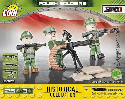 Billede af Cobi Small Army WW2 2029 - Polske soldater