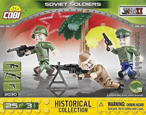 Bild på Cobi Small Army WW2 2030 - Russiske soldater