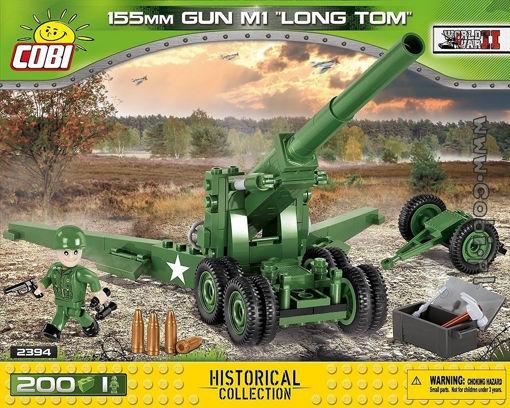 Billede af Cobi Small Army WW2 2394- 155mm Gun M1 Long Tom