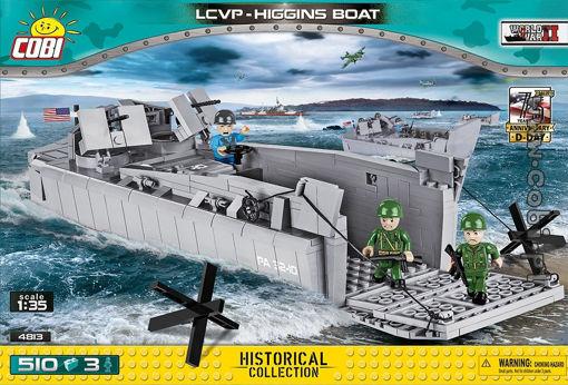 Billede af Cobi Small Army WW2 4813- LCVP - Higgins Boat