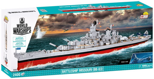 Bild på Cobi World of Warships 3084 Battleship Missouri (BB-63)