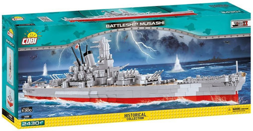 Bild på Cobi WW2 4811 Battleship Musashi