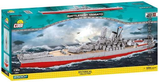 Bild på COBI WW2 4814 Battleship Yamato