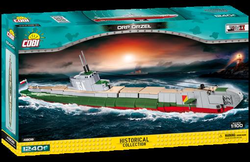Bild på Cobi WWII 4808 Submarine ORP Orzel