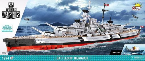 Billede af Warships  WW2 COBI-3081 - Bismarck Battleship