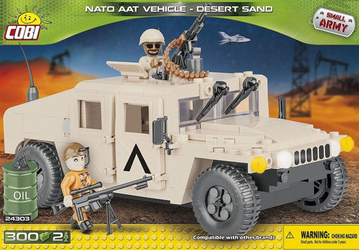 Billede af Cobi 24303 - NATO AAT Vehicle - Desert Sand