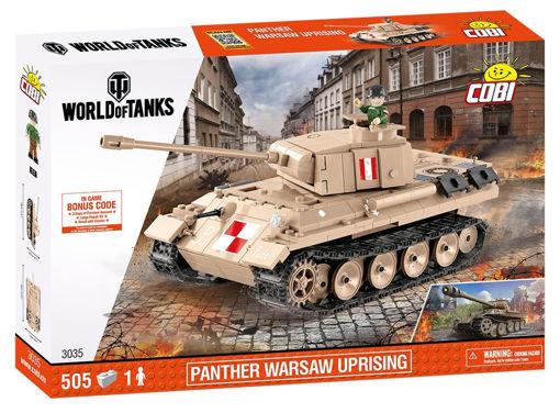 Billede af Cobi Small Army World of Tanks 3035 Panther Warsaw