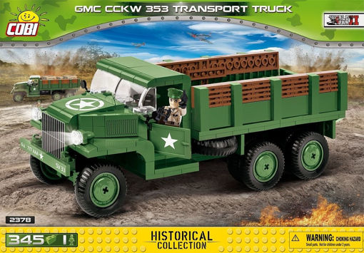 Billede af Cobi Small Army WW2 2378 - GMC CCKW 353 Transport Truck