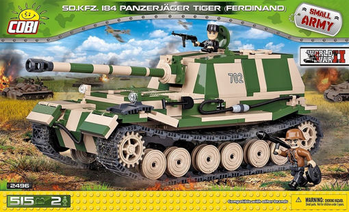 Billede af Cobi Small Army WW2 2496 Panzerjäger Tiger (P)