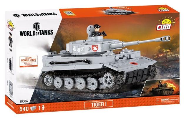 Billede af COBI World Of Tanks 3000 TIGER-I