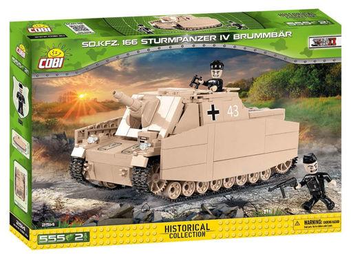 Bild på Cobi WW2 2514 - SD.KFZ166 Sturmpanzer IV Brummbar