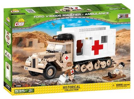 Bild von Cobi WW2 2518 - Ford V3000S Maultier Ambulance