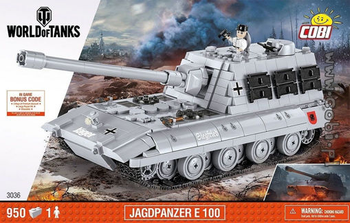 Bild på World of Tanks COBI-3036 Jagdpanzer E 100