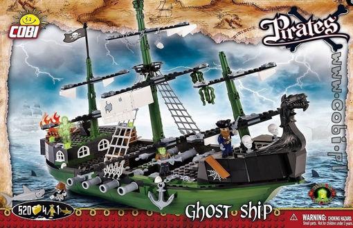 Billede af Cobi 6017 Pirates Ghost Ship