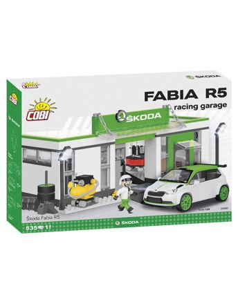 Billede af COBI 24580 Skoda Fabia R5 racing garage