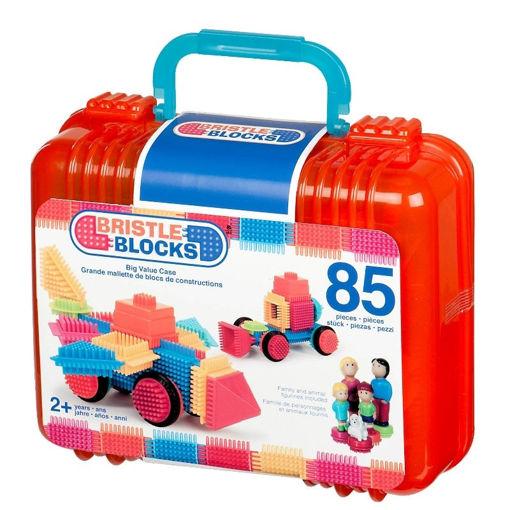 Billede af Bristle Blocks i kuffert 85 stk