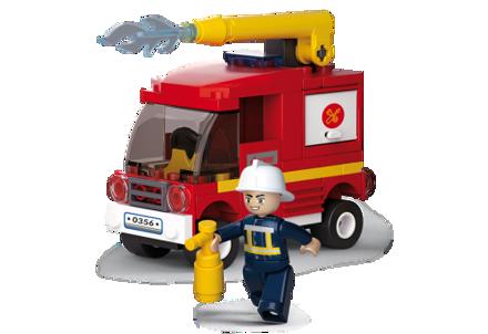 Billede af Sluban FIRE lille brandsprøjte, Small Water Tender M38-B0622C
