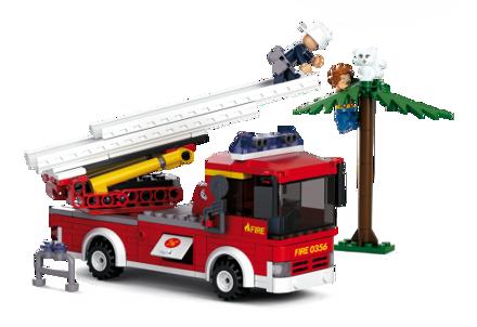 Billede af Sluban stigevogn,  Ladder Truck M38-B0625
