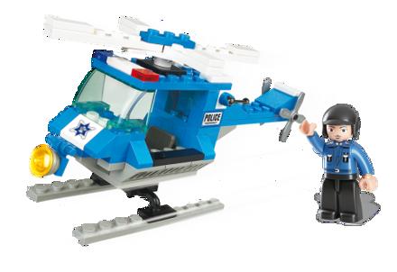 Bild von Politi Helikopter,Sluban Police Helicopter M38-B0175