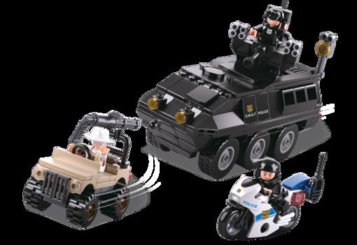 Bild på Armeret Politivogn, Sluban Armored Vehicle